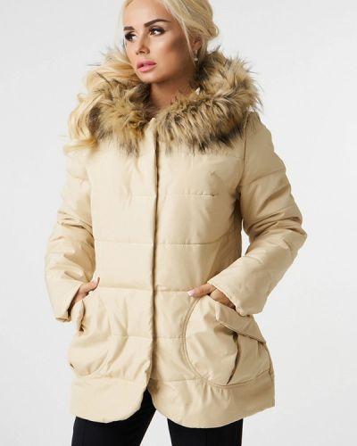 Утепленная куртка демисезонная осенняя Luxlook