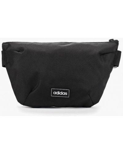 Поясная сумка текстильная черная Adidas