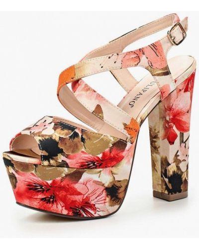 Босоножки на каблуке Tulipano