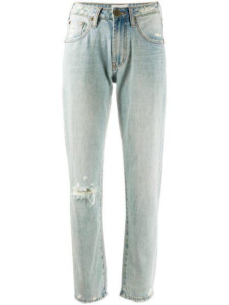 Свободные синие джинсы на молнии One Teaspoon