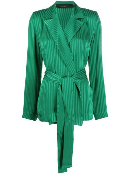 Удлиненный пиджак с воротником Federica Tosi
