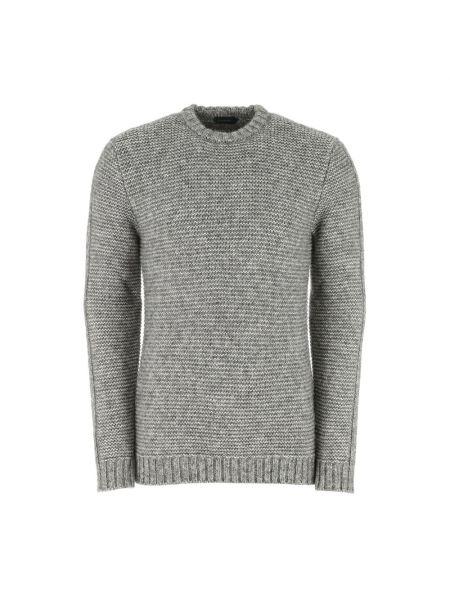 Szary sweter Zanone