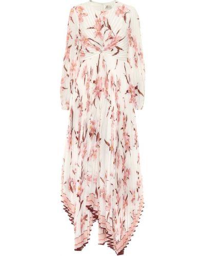 Летнее платье розовое макси Zimmermann