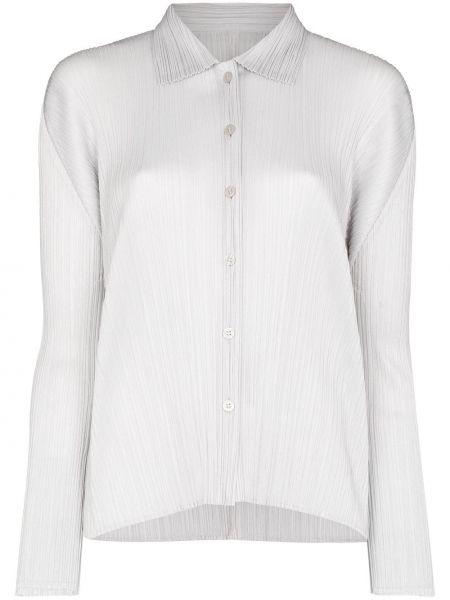 Koszula z długimi rękawami zapinane na guziki Pleats Please Issey Miyake