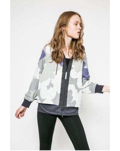 Утепленная куртка с капюшоном с карманами Adidas By Stella Mccartney