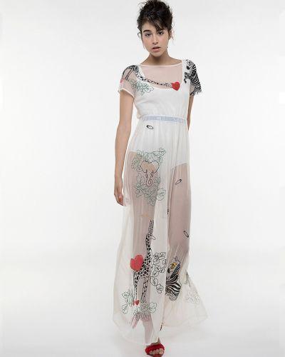 Бежевое платье Patrizia Pepe