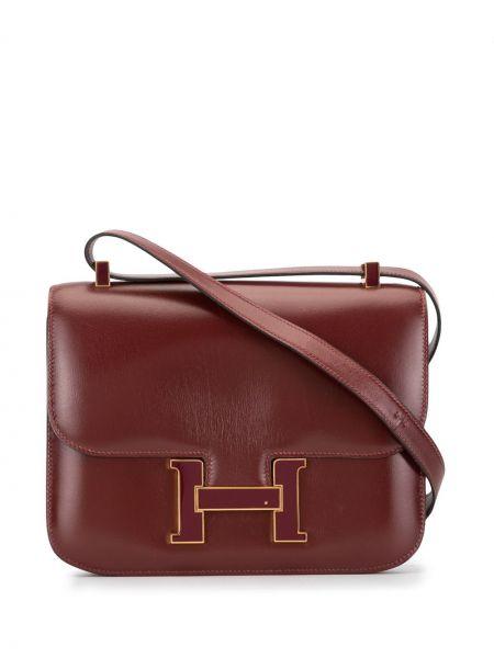 Сумка на плечо на молнии винтажная Hermès