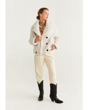 Пальто из овчины пальто Mango