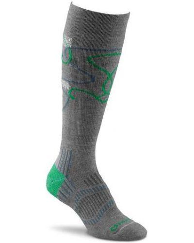 Носки лыжные коричневый Foxriver