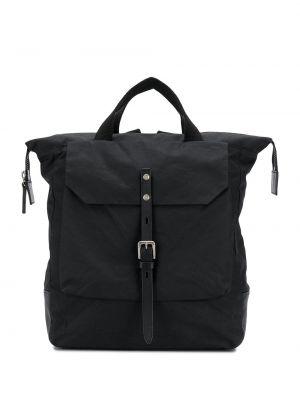 Черная кожаная сумка круглая Ally Capellino