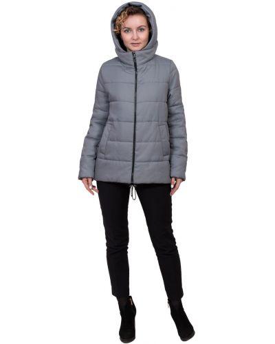 Зимняя куртка с капюшоном утепленная J-splash