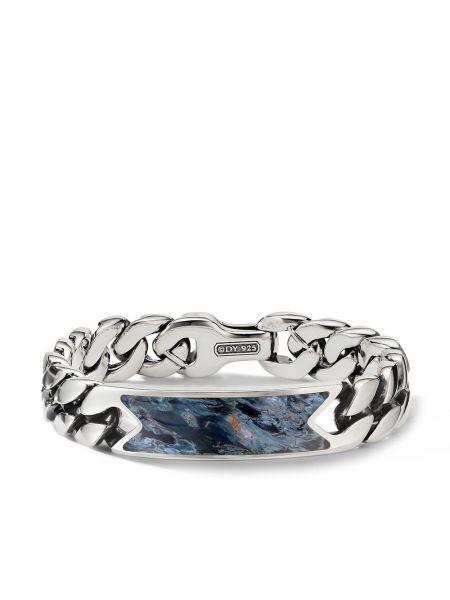 Łańcuch ze srebra srebrny David Yurman