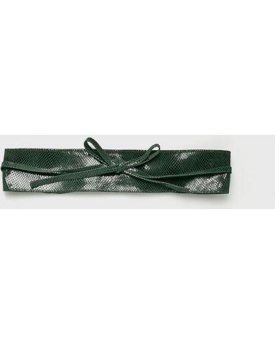 Зеленый ремень кожаный Answear