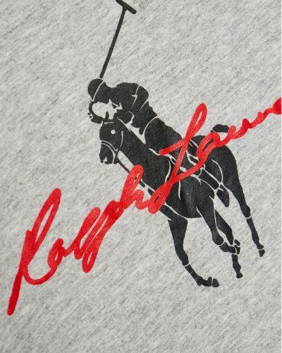 T-shirt, szary Polo Ralph Lauren