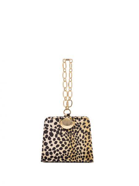 Złota bransoletka ze złota z printem Rixo