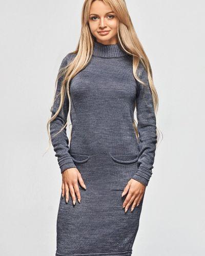Платье - серое Brunello De Neri