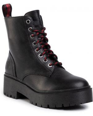 Buty czarne Bullboxer