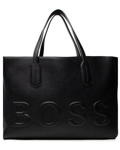 Czarna torebka Boss
