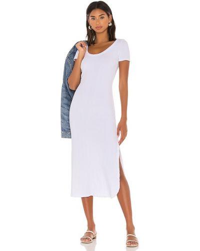 Платье из штапеля - белое Vitamin A