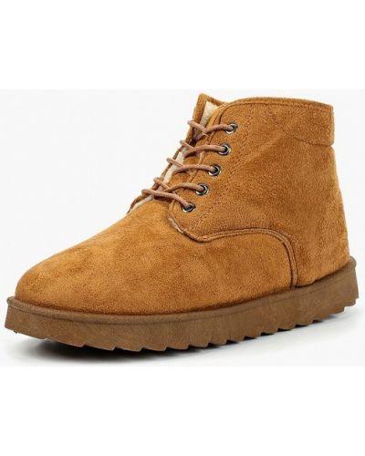 Ботинки осенние демисезонный коричневый твое