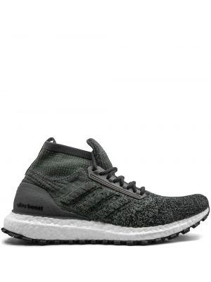 Sneakersy sznurowane zielony Adidas