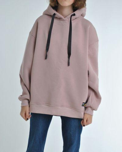 Худи оверсайз - розовое Fashion Club