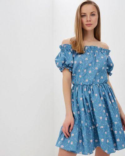 Платье - голубое L1ft
