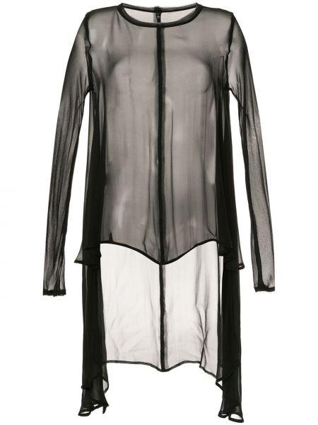 Шелковая блузка - черная Taylor