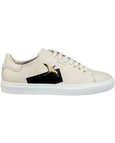 Beżowe sneakersy Axel Arigato