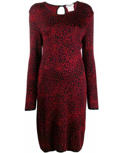 Платье винтажное - черное Yves Saint Laurent Vintage