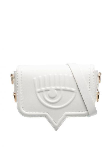 Biała torebka Chiara Ferragni