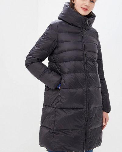 Зимняя куртка осенняя черная United Colors Of Benetton