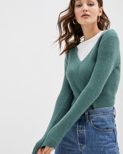 Зеленый пуловер William De Faye
