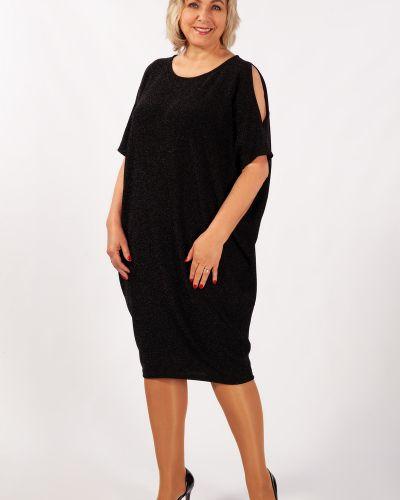 Нарядное с рукавами трикотажное вечернее платье милада