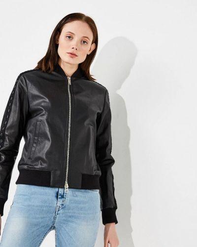 Черная куртка весенняя Iceberg
