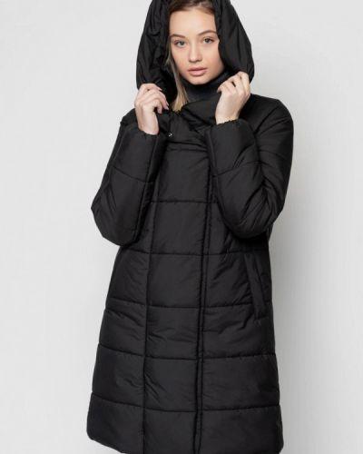 Утепленная черная куртка Arber