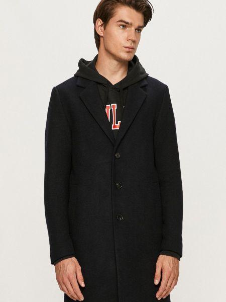 Шерстяное пальто - синее Produkt By Jack & Jones