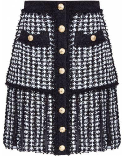 Плиссированная юбка Balmain