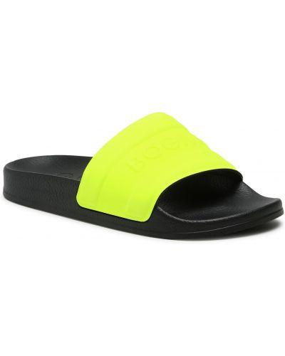 Żółte sandały Bogner
