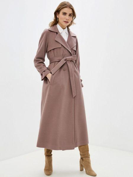 Бежевое пальто с капюшоном Imago