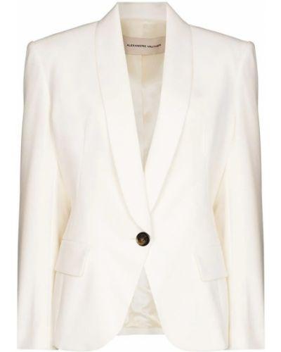 Biała kurtka Alexandre Vauthier