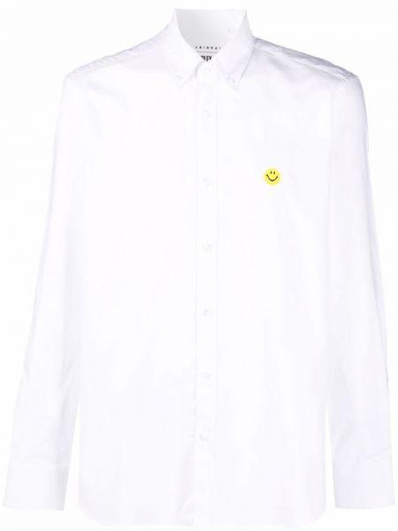 Biała biała koszula bawełniana Joshua Sanders