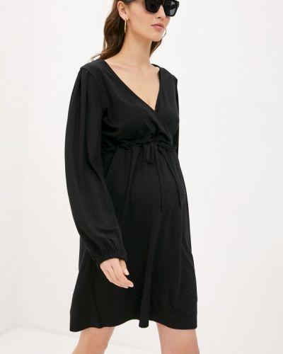 Черное весеннее платье Mama.licious
