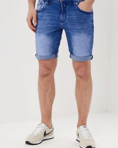 Джинсовые шорты синий Celio