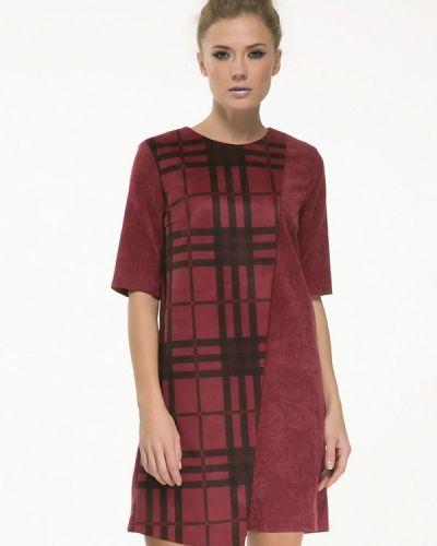 Платье бордовый красный Yulia'sway