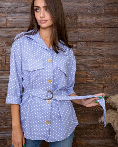 Рубашка - голубая Kamomile