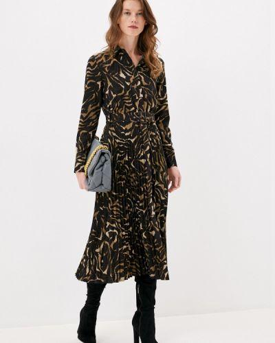 Платье - коричневое Savage