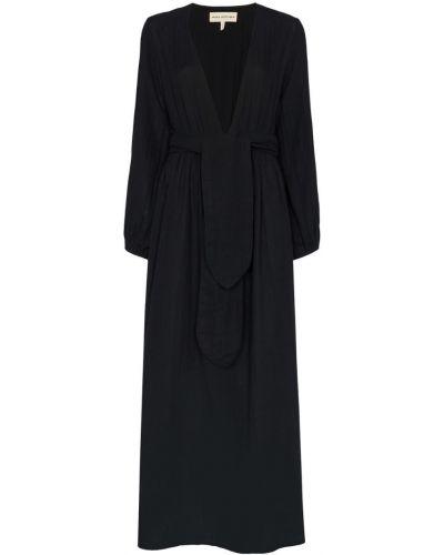 Платье хлопковое черное Mara Hoffman