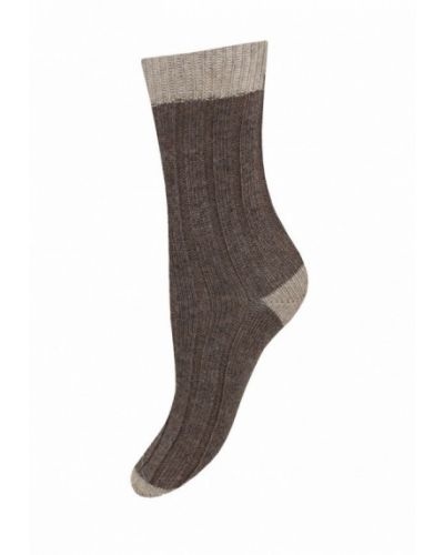Носки итальянские коричневый Mademoiselle