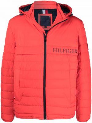 Черная длинная куртка Tommy Hilfiger